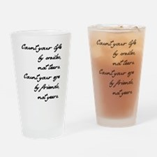 Counting Lesson Drinking Glass