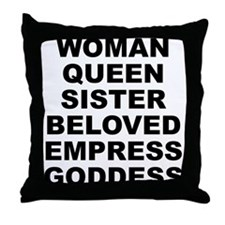 W.q.s.b.e.g. Throw Pillow
