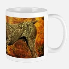 autumn hunting pointer dog Mugs