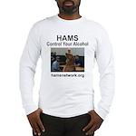 HAMS - Control Your Alcohol Long Sleeve T-Shirt
