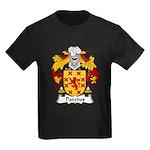 Paredes Family Crest Kids Dark T-Shirt
