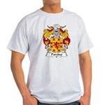 Paredes Family Crest Light T-Shirt
