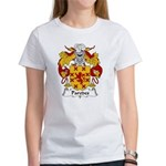 Paredes Family Crest Women's T-Shirt