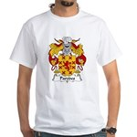 Paredes Family Crest White T-Shirt