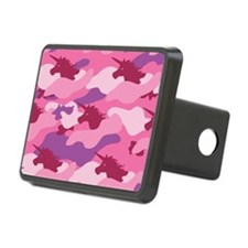 Unicorn Camouflage Pink Hitch Cover