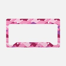 Pink Camo Licence Plate Frames Pink Camo License Plate