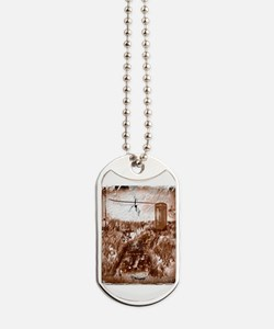 Old phone booth Dog Tags