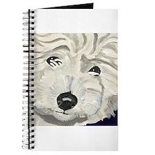 Cute Cotton de tulear art Journal
