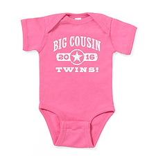 Big Cousin Twins 2016 Baby Bodysuit