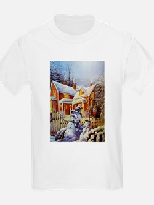 Father & Son Snowman T-Shirt