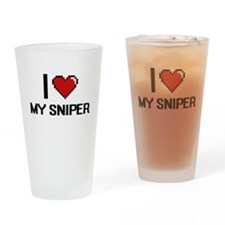 I love My Sniper Drinking Glass