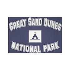 Great Sand Dunes National Park Rectangle Magnet