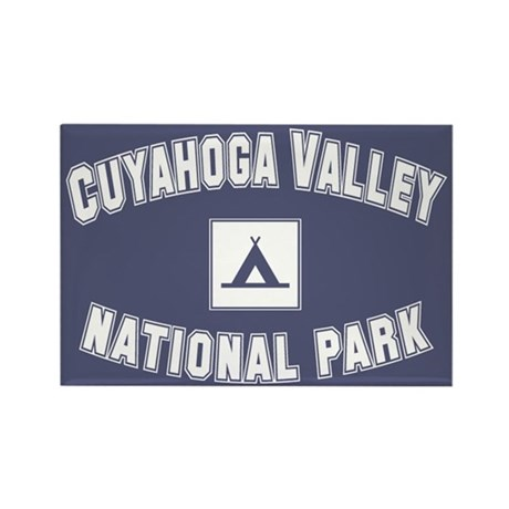 Cuyahoga Valley National Park Rectangle Magnet