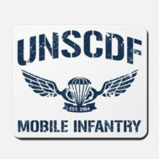 UNSCDF Mobile infantry Mousepad