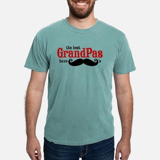 Best Grandpas Have Musta Mens Comfort Colors Shirt