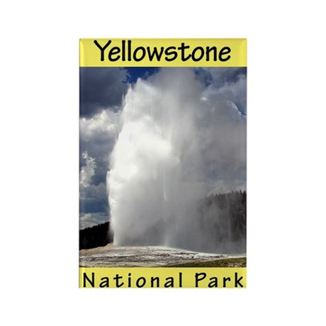 Yellowstone National Park (Vertical) Rectangle Mag