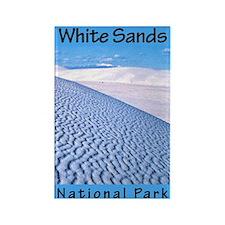 White Sands National Park (Ve Rectangle Magnet