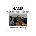Hams - Control Your Alcohol Sticker