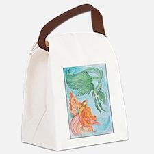 Beta Fish Canvas Lunch Bag
