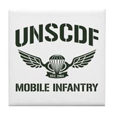 UNSCDF Mobile infantry Tile Coaster