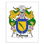 Palmas Family Crest Small Poster