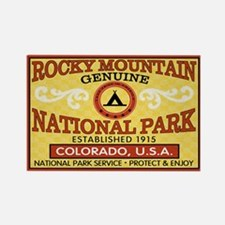 Rocky Mountain National Park Rectangle Magnet
