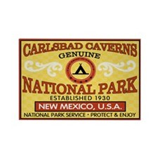 Carlsbad Caverns National Park Rectangle Magnet