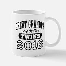 Great Grandpa 2016 Twins Mug