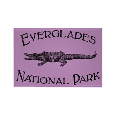 Everglades National Park (Crocodile) Rectangle Mag