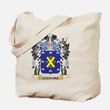 Ledesma Coat of Arms - Family Crest Tote Bag