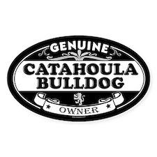 CATAHOULA BULLDOG Oval Bumper Stickers