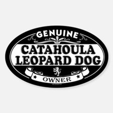 CATAHOULA LEOPARD DOG Oval Decal