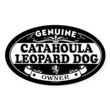 CATAHOULA LEOPARD DOG Oval Stickers
