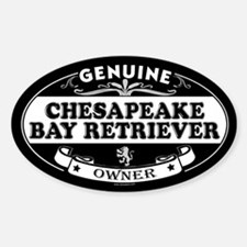 CHESAPEAKE BAY RETRIEVER Oval Decal