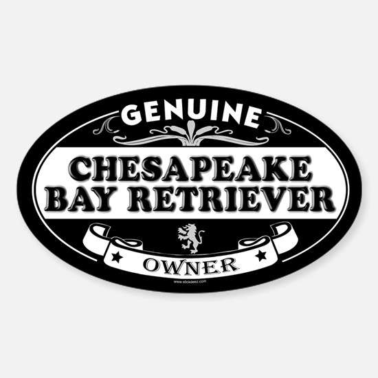 CHESAPEAKE BAY RETRIEVER Oval Decal