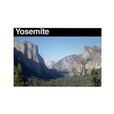 Yosemite NP Rectangle Magnet