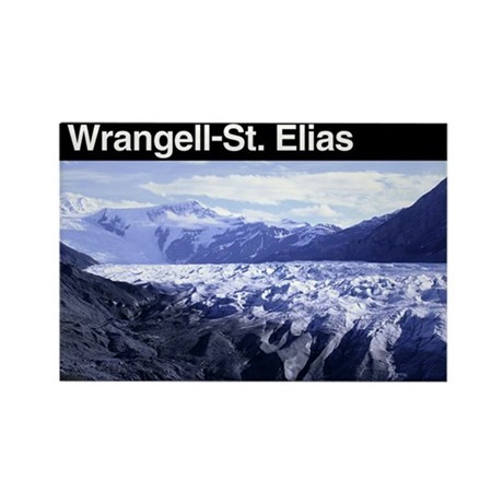 Wrangell-St. Elias NP Rectangle Magnet