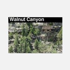 Walnut Canyon NM Rectangle Magnet