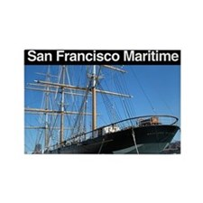 San Francisco Maritime NHP Rectangle Magnet