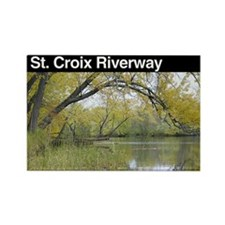 St. Croix NSR Rectangle Magnet
