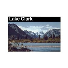 Lake Clark National Park Rectangle Magnet