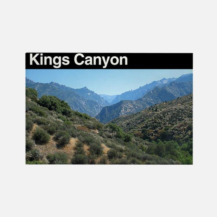 Kings Canyon NP Rectangle Magnet