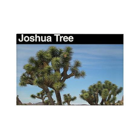 Joshua Tree National Park Rectangle Magnet