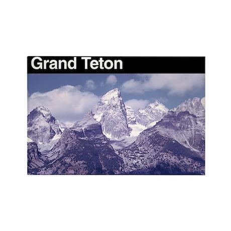 Grand Teton National Park Rectangle Magnet