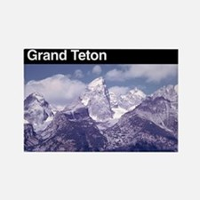 Grand Teton National Park Rectangle Magnet
