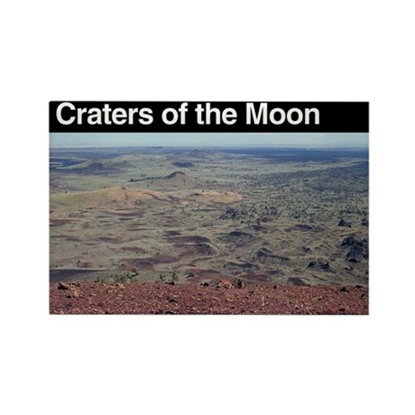 Craters of the Moon NM Rectangle Magnet