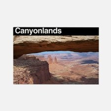 Canyonlands NP Rectangle Magnet