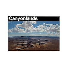 Canylonlands NP Rectangle Magnet