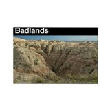 Badlands national park Magnets