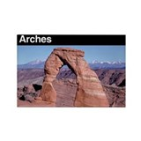 Arches national park Magnets